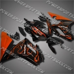 For Triumph Daytona 675 Triple ABS Fairing Orange T6704-handcraft