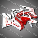 For Triumph Daytona 675 Triple Racing Fairing Red T6721-handcraft
