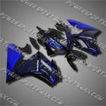 For Triumph Daytona 675 Triple Fairing Blue Flame T6703-handcraft