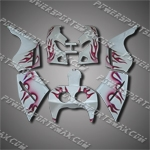 Aftermarket Fairing For VFR400 NC30 1989-1993 89-93 ZH1084-handcraft