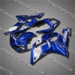 Fairing For YAMAHA 1998 1999 2000 2001 2002 YZF R6 Injection Mold Plastics Set H, Free Shipping!