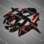 Fairing For SUZUKI 2008 2009 GSXR 600 GSX-R 750 K8 Injection Mold Plastics Set, Free Shipping!