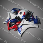 Fairing For Honda 2008 2009 2010 2011 CBR 1000 RR Plastics Set Injection Mold, Free Shipping!