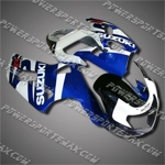 Fairing For Suzuki 2000 2001 2002 GSXR 1000 Injection Molding Plastics Set K1 AL, Free Shipping!