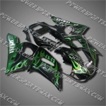Fairing For YAMAHA 1998 1999 2000 2001 2002 YZF R6 Injection Mold Plastics Set, Free Shipping!