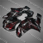 Fairing For Kawasaki 2007 2008 ZX6R 636 Plastics Set Injection Mold 07 08 ZX-6R, Free Shipping!