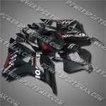 Fairing For 2007-2008 Honda F5 CBR 600 RR Plastics Set Injection mold Body Work, Free Shipping!