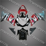 Suzuki GSX R750 2001-2003 ABS Fairing Set, Free Shipping!
