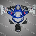 Suzuki GSX R600 2001-2003 ABS Fairing Set, Free Shipping!
