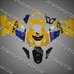 Suzuki GSX R750 2004-2005 ABS Fairing Set