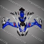 Suzuki GSX R600 2006-2007 ABS Fairing Set, Free Shipping!