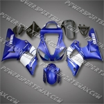 YAMAHA YZF-R1 2000-2001 ABS Fairing Set, Free Shipping!