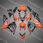 Kawasaki Ninja ZX10R 2004-2005 ABS Fairing Set