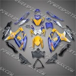 Suzuki GSX R600 2008-2009 ABS Fairing Set, Free Shipping!