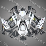 Kawasaki Ninja ZX6R 2007-2008 ABS Fairing Set