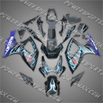 Suzuki GSX R600 2006-2007 ABS Fairing Set