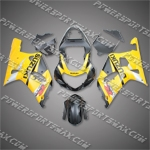 Suzuki GSX R750 2001-2003 ABS Fairing Set