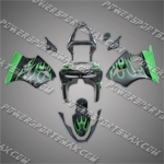 Kawasaki Ninja ZX6R 1998-1999 ABS Fairing Set -- Handcraft
