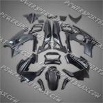 Honda CBR600 F3 1997-1998 ABS Fairing Set -- Unpainted
