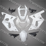 Suzuki GSX-R600/750 2001-2003 ABS Fairing Set -- Unpainted