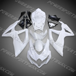 Suzuki GSX-R600/750 2008-2009 ABS Fairing Set -- Unpainted