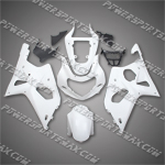 Suzuki GSX-R1000 2000-2002 ABS Fairing Set -- Unpainted