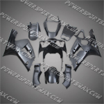 Kawasaki Ninja ZX6R 2003-2004 ABS Fairing Set -- Unpainted