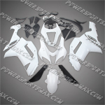 Kawasaki Ninja ZX6R 2007-2008 ABS Fairing Set -- Unpainted