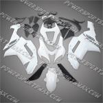 Kawasaki Ninja ZX6R 2007-2008 ABS Fairing Set -- Unpainted