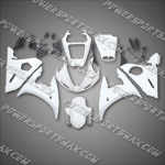 Yamaha YZF R6 2005 ABS Fairing Set -- Unpainted
