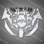 Yamaha YZF R6 2008-2009 ABS Fairing Set -- Unpainted, Free Shipping!