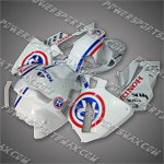 Fairing For 2005 2006 Honda F5 CBR 600 RR Plastics Set, Free Shipping!