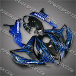 Fairing For 2007-2008 Honda F5 CBR 600 RR Plastics Set, Free Shiping!