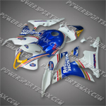 Fairing For 2007 2008 Honda F5 CBR 600 RR Plastics Set Injection Molding, Free shiping!