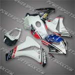 Honda 2008 2009 CBR 1000 RR Fairing Plastics Set Injection Molding Body Work, Free Shipping!