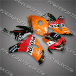 Fairing For 2008 2009 Honda CBR 1000 RR Plastics Set Injection Molding Body Work, Free Shipping!