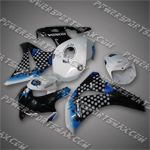 Fairing For Honda 2008 2009 CBR1000RR Plastics Set Injection Molding BodyWork, Free Shipping!
