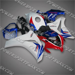 New Fairing For Honda 2008 2009 CBR1000RR Plastics Set Injection Molding, Free Shipping!
