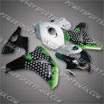 Fairing For Honda 2008 2009 CBR1000RR Plastics Set Injection Molding Body Work, Free Shipping!