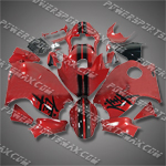 Fairing For Suzuki Hayabusa GSX1300R 99-07 Red Fairing ZZ491, Free Shipping!
