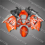 Suzuki Hayabusa GSX1300R 99-07 Flames Fairing 36Z41, Free Shipping!