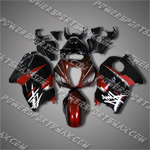 Suzuki Hayabusa GSX1300R 99 07 Red Fairing 36Z22, Free Shipping!