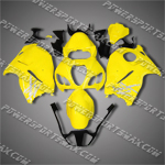 Suzuki Hayabusa GSX1300R 99 07 Yellow Fairing 3629, Free Shipping!