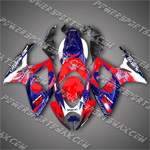 Injection Molded For GSX-R600 06 07 K6 Corona Red Fairing, Free Shipping!