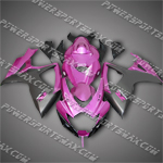 Suzuki GSX-R600 06 07 K6 Hot Pink Fairing 66Z62, Free Shipping!