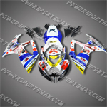 Suzuki GSX-R600 06 07 K6 Alstare ABS Fairing 66Z37, Free Shipping!
