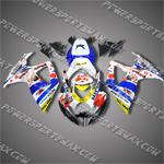 Suzuki GSX-R600 06 07 K6 Alstare ABS Fairing 66Z37, Free Shipping!