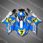 Suzuki GSX-R600 04 05 K4 Race 7 111 Fairing 64Z27, Free Shipping!