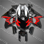 Yamaha YZF600R Thundercat 97-07 Red Black ABS Fairing Set 60M37-Handcraft, Free Shipping!