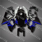 Yamaha YZF600R Thundercat 97-07 Blue Black Fairing-Handcraft, Free Shipping!